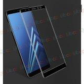 Samsung Galaxy A5 2018 3d Komple Full Kapatan Cam Ekran Koruyucu
