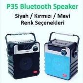 P35 Ses Bombası Bluetooth Hoparlör Speaker Fm,usb,sd,aux Girişli