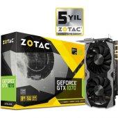 Zotac Nvidia Geforce Gtx 1070 Mini 8gb Gddr5 (Dx12) Pcı E 3.0 Ekran Kartı