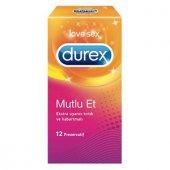 Durex Mutlu Et 12lı Prezervatıf Ekstra Uyarıcı Tırtık Ve Kabart