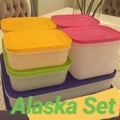 Tupperware Alaska Set 6lı Dondurucu Saklama Kabı