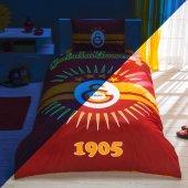 Taç Galatasaray Parlayan Güneş Lisanslı Nevresim Takımı