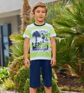 Rolypoly Süprem 1023 Pamuklu Pijama Takımı Yeşil