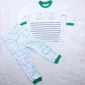 Kurbağlı 2 6 Yaş Pijama Takımı A11192 Yeşil