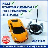 Uzaktan Kumandalı Full Fonksiyonlu 1 16 Scale Pilli Yarış Arabası
