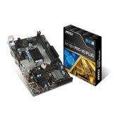 Msı Intel H110m Pro Vd Plus H110 Ddr4 2133 Vga Glan 1151p 7 Usb 3.1