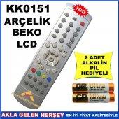 Arçelik Beko Lcd Televizyon Kumandası Kk0151