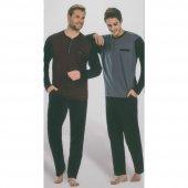 Pierre Cardin 5270 Uzun Kol Erkek Pijama Takım