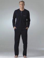 Pierre Cardin 5454 Erkek Uzun Kol Pijama Takım