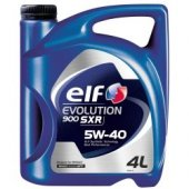 Elf Evolutıon Sxr 5w40 4 Litre Motor Yağ (Dizel)