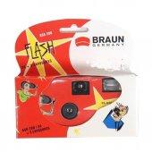 Braun Qf200 24+3 Poz Flashlı Tek Kullanımlık Fotoğraf Makinesi