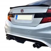 Honda Civic (2012 2016) Çakarlı Model Arka Karlık (Boyalı)