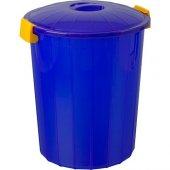 Plastik Battal Çöp Kovası 60 Lt Mavi