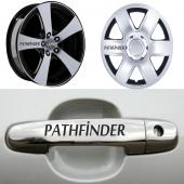 Nissan Pathfinder Kapı Kolu Jant Sticker