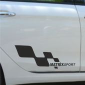 Hyundai Matrix Yan Sport Oto Sticker Sağ Sol 2 Adet