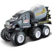 Maisto Quarry Monster Mini Motorlu İş Makinası Füme