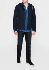 Mavi 0193625723 Erkek Kapüşonlu Ceket Gece Lacivert