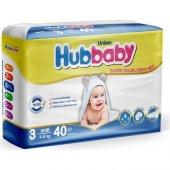 Hiper Hubbaby Bebek Bezi 3 Beden Midi 4 9 Kg 40 Adet