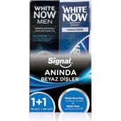 Signal White Now Men 75 Ml + White Now 50 Ml Diş Macunu