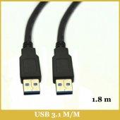 Usb 3.1 A Erkek To Usb 3.1 A Erkek Kablo 1,8 Metre