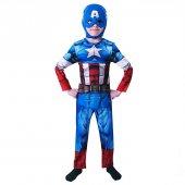 Kaptan Amerika Avengers Kostüm 7 8 Yaş