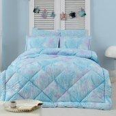 Marie Claire Uyku Seti Palommier Diş 100 Pamuk Iç 100 Polyester Elyaf Çift Kişilik Mavi