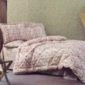 Marie Claire Uyku Seti Marla Diş 100 Pamuk Iç 100 Polyester Elyaf Tek Kişilik Somon