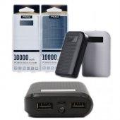 Remax Proda 10000 Mah Çift Çıkışlı Powerbank Taşınabilir Şarj Ale