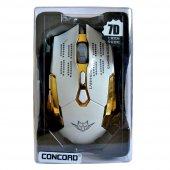 Concord Gaming Oyuncu Mouse 7d Q8 3 Model Kablolu 3200 Dpı Led