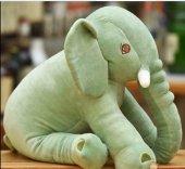 70cm Uyku Arkadaşım Büyük Yeşil Fil Peluş Oyuncak Sağlıklı, Peluş