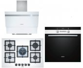 Siemens Ankastre Set30 (Hb43gs256 + Ep7a2qb20 + Lc65ka270t)