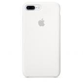 Apple Orijinal İphone 7 Plus 8 Plus Beyaz Silikon Kılıf