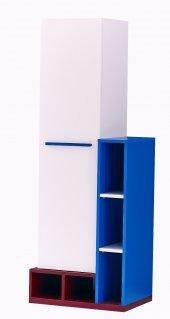 Kardel Doris Kitaplık (Mavi)