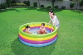 Bestway Büyük Boy 4 Boğum, Şişme Aile Çocuk Havuzu 51117