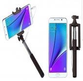 Samsung Galaxy Note 5 Kulaklık Girişli Selfie Özçekim Çubuğu