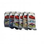 Ertuğ Erkek Çocuk Çorap 6 Lı Paket Asorti