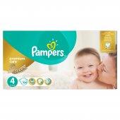 Prima Bebek Bezi Premium Care Aylık Paket 4 Beden 104 Adet