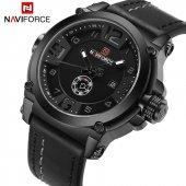 Naviforce 9099 Deri Kordon Erkek Kol Saati Fonksiyonları Aktif Ça