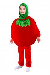 Domates Çocuk Kostümü