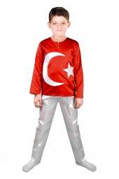 Türk Bayrağı Kostüm (Erkek Çocuk)