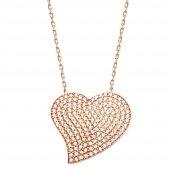 Alışverişrengi Kalp Kolye