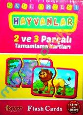 2 3 Parçalı Hayvanlar (18 Ay Üzeri)