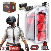 Dragos Ryzen 3 2200g 16gb Ram 120gb Ssd 1tb Hdd Msı 6gb Gtx 1060 Ekran Kartı Masaüstü Oyun Bilgisayarı