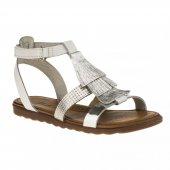 Msm Trend Sandals 2171 Tek Cırt Beyaz Çocuk Sandalet