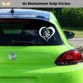 Hz Muhammet Kalp Oto Sticker