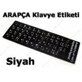 Oem Arapça Q Siyah Klavye Stiker