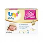 Uni Baby Sensitive 12li Mega Paket Islak Havlu Mendil Bebek