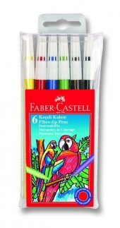 Faber Castel Keçeli Kalem 6 Renk