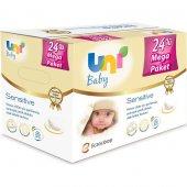 Uni Baby Sensitive Islak Havlu 24 Paket 56x24 (1344 Yaprak)