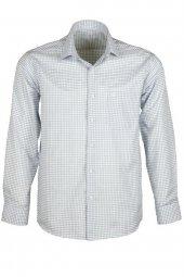 Erkek Gömlek Klasik Normal Kesim Rar00241 Kareli Gömlek